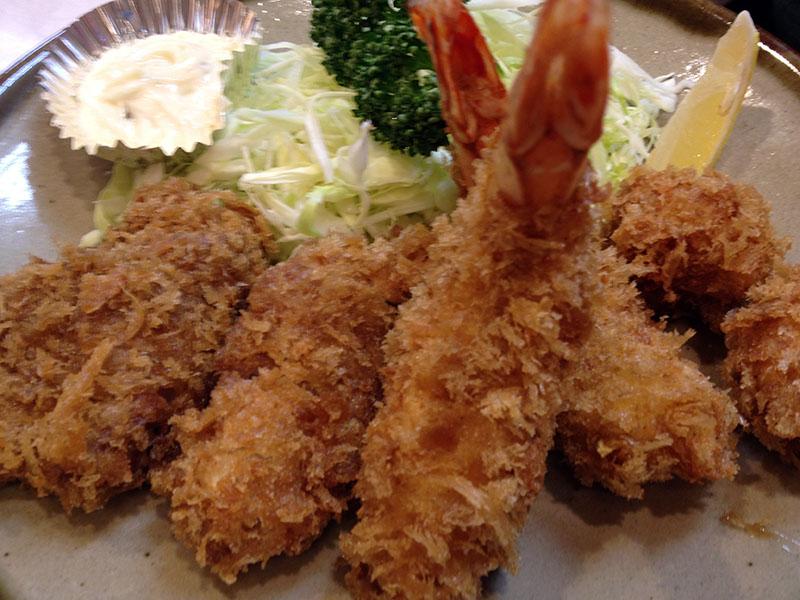 (限)かきフライ定食 2,000円