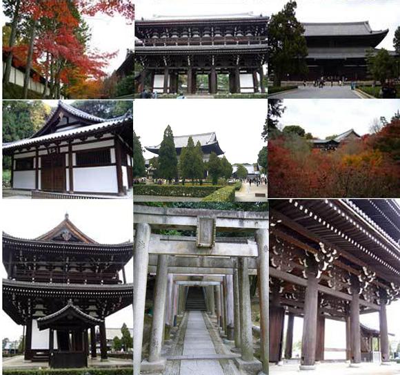 東福寺周辺の建造物