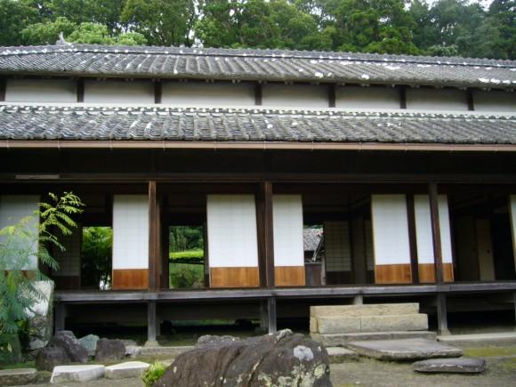 飫肥藩主・伊藤祐帰が1869年に城内から移り住んだ屋敷