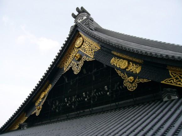 東本願寺の屋根