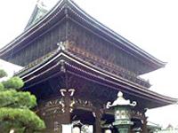 京都三大門の1つである御影堂門