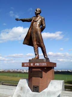 クラーク博士の像