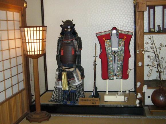 飫肥歴史資料館に展示されている飫肥藩の初代藩主・伊藤祐兵が愛用した甲冑