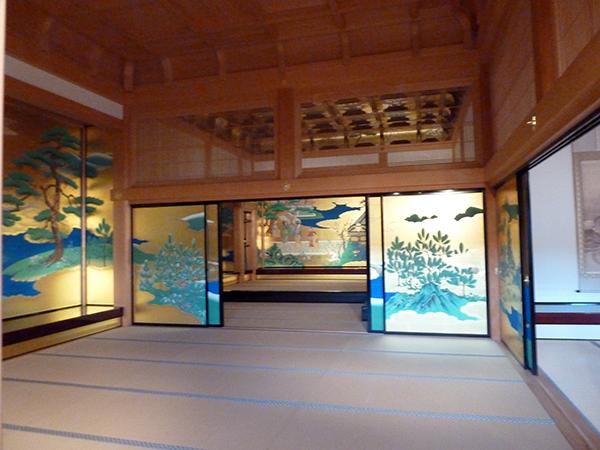 将棋の名人戦でも使用された本丸の大広間