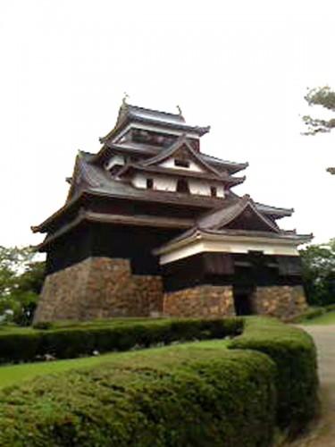 松江城の外観