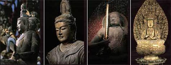 21躯の仏像が安置される講堂