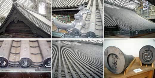阿弥陀堂・御影堂の屋根