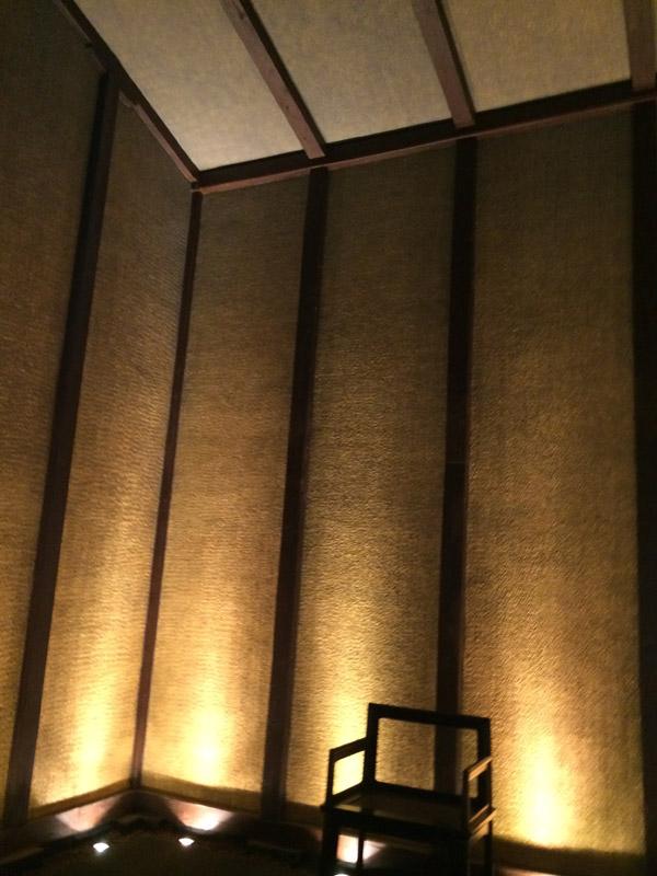金箔でできた部屋
